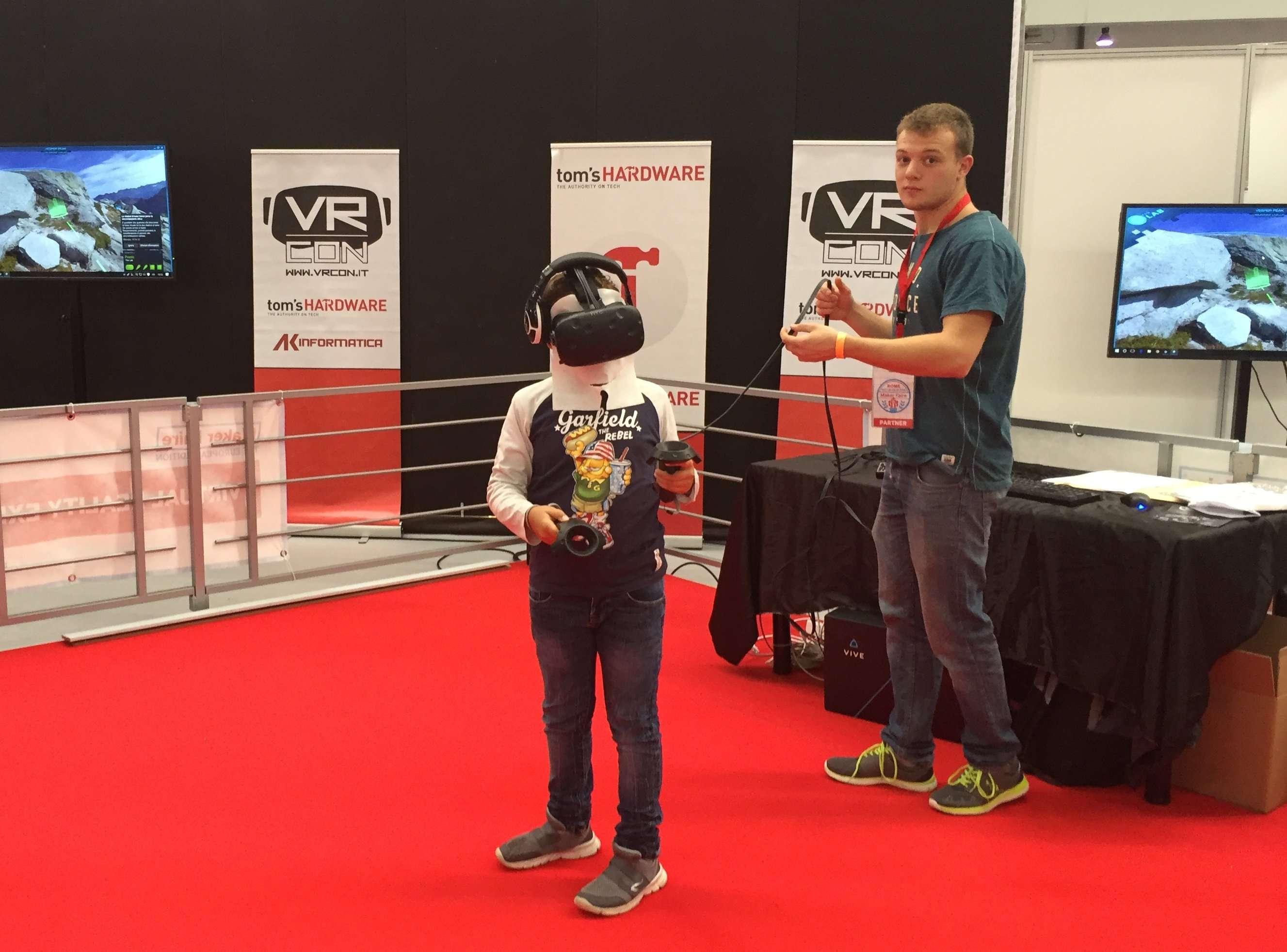 esperienza 3D maker faire 2016