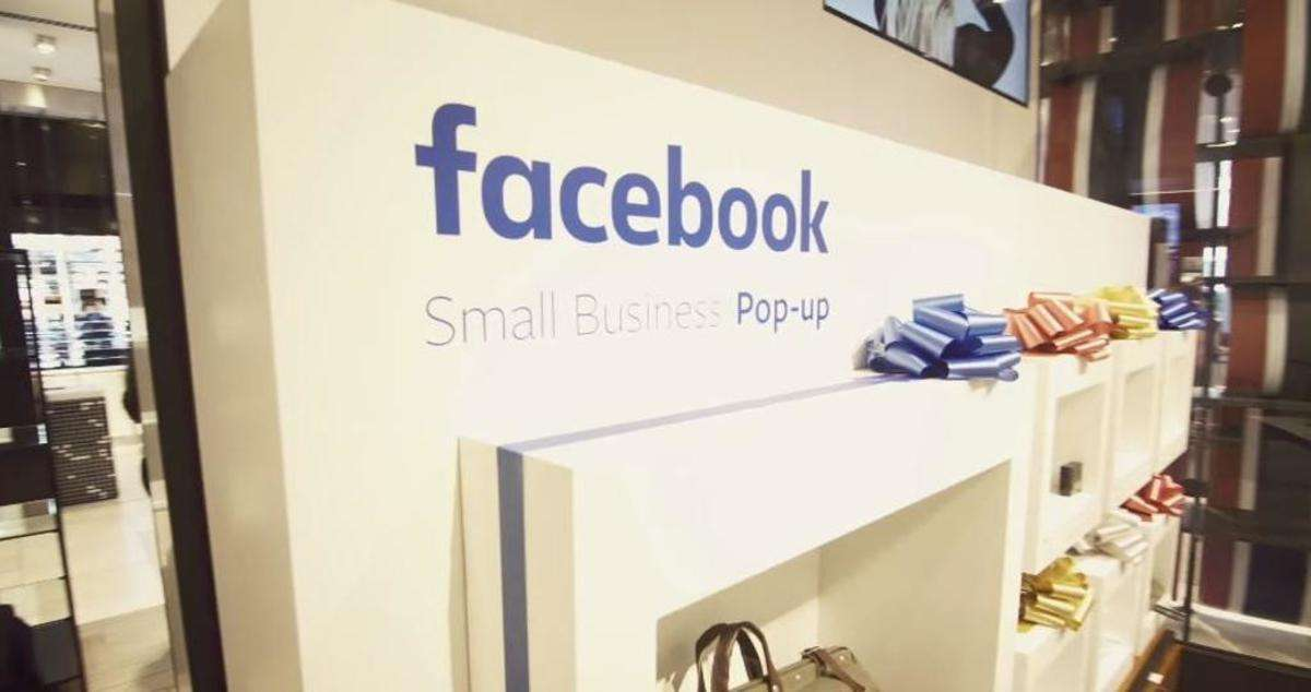 Facebook apre i suoi pop-up store, spazio (fisico) ai digital brand
