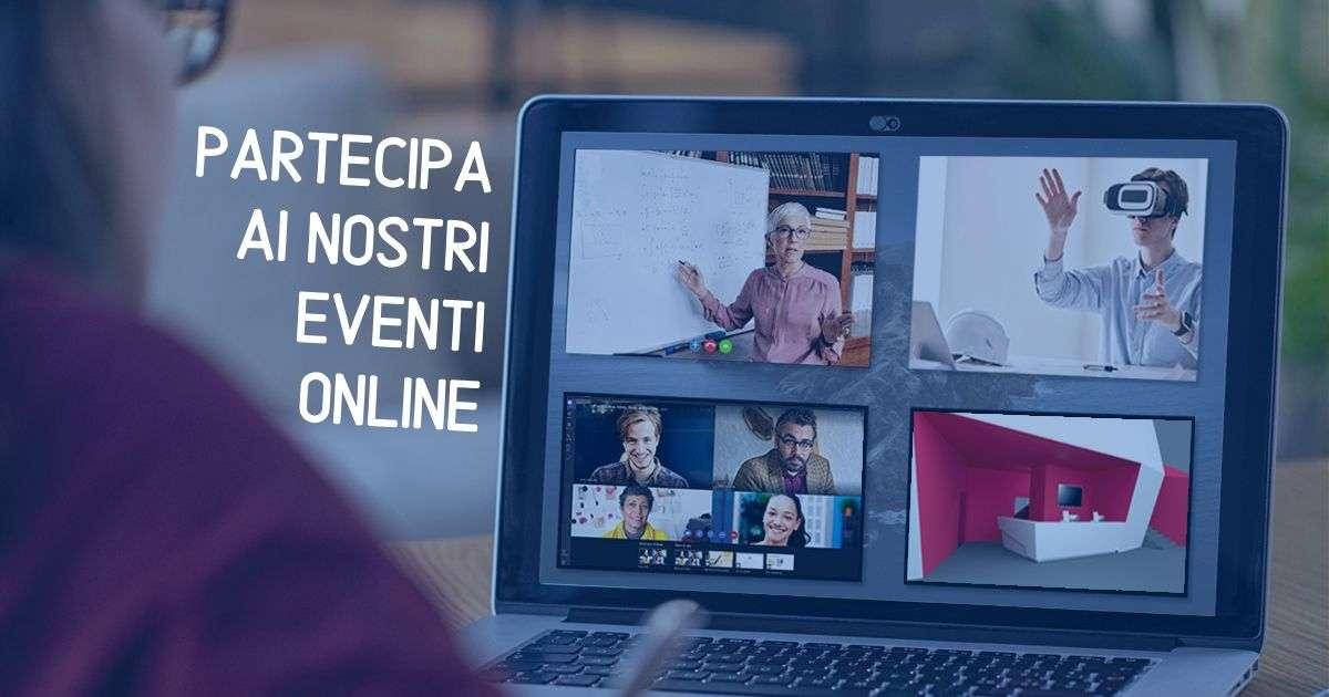 programma nostri eventi online