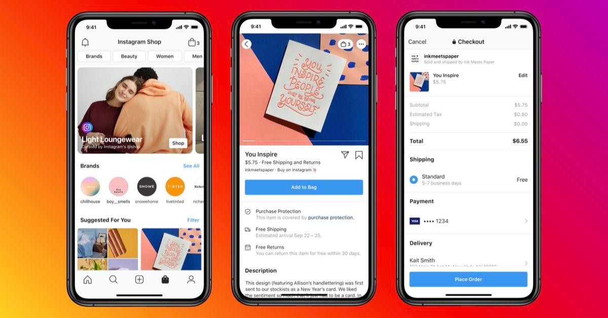Facebook Shops e-commerce