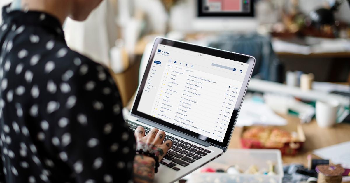 comunicare un evento via email