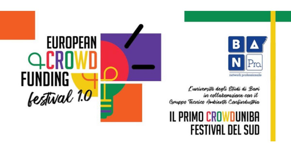 european crowdfunding festival bari