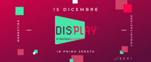 Display evento marketing e comunicazione