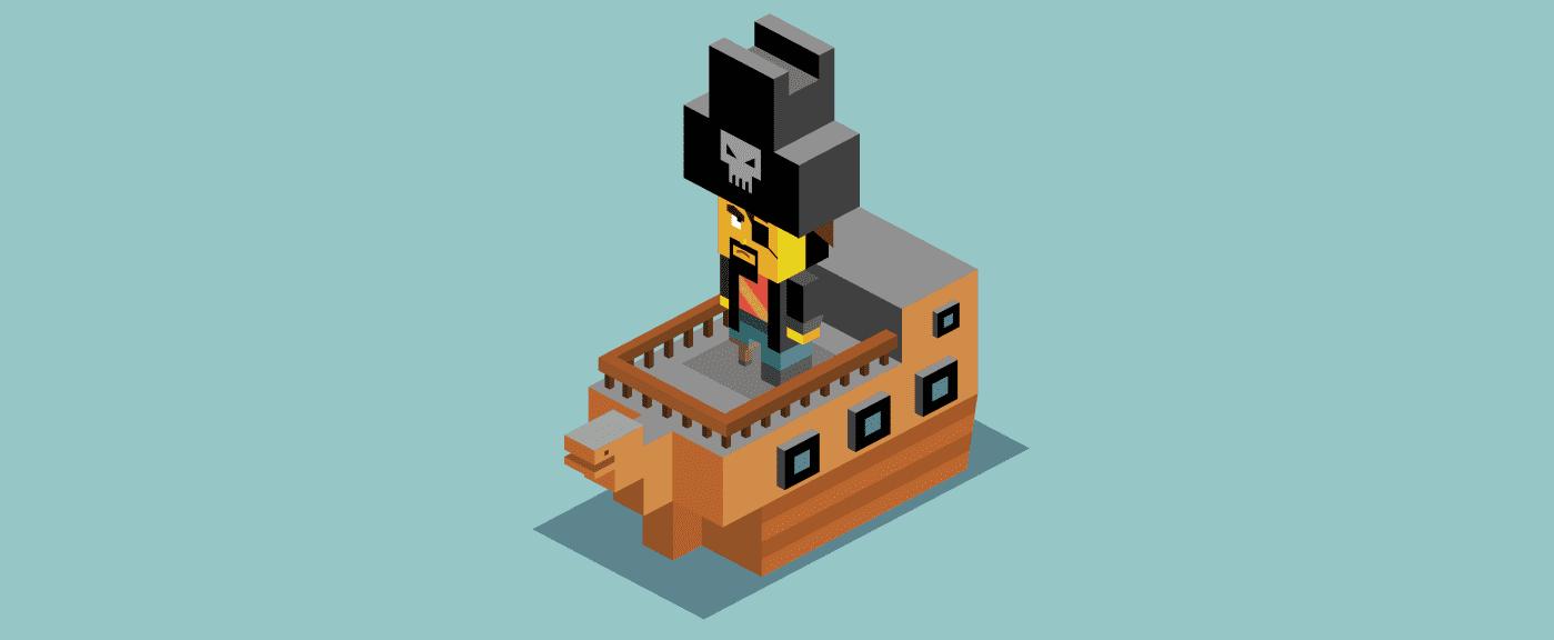 metrica dei pirati