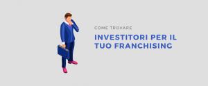 investitori franchising