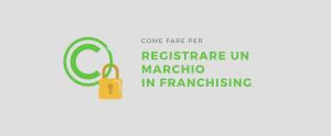 registrare marchio franchising